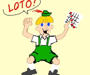 Loto (german for bingo)