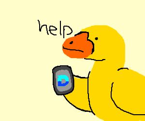 Duck plays Drawception