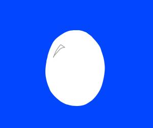 Egg is alive
