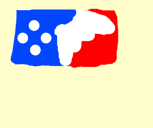 MLB logo but it is mlg