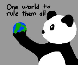 Panda taking over Earth