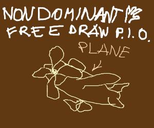 Non Dominant Hand Challenge Free Draw P I O Drawception
