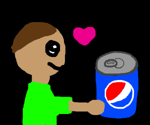 a story of love between a boy and a pepsi