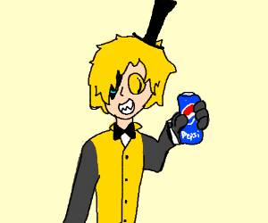 Person with a Pepsi!