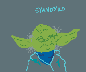 Yoda says eyavoyko