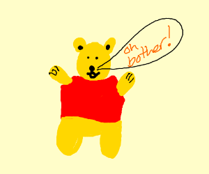 """Omae wa mou shinde-pooh"" (winnie the pooh)"