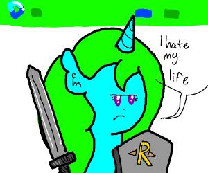 Pony Guard: I Hate My Life (MLP)