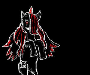 Weird pony OC that looks creepy