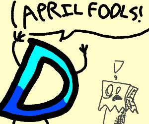April Fool's day on Drawception.