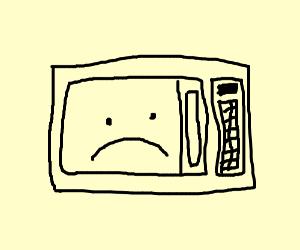 A sad microwave