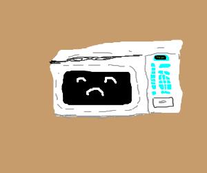 sad microwave