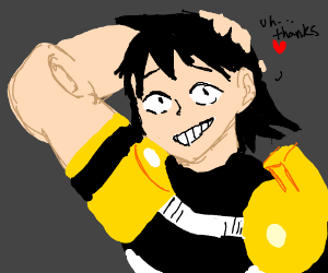 hanta sero mha aka best boi drawing by lazarin drawception