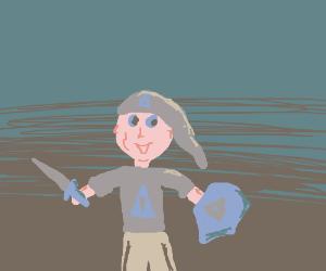 Link from Legend of Zelda PIO