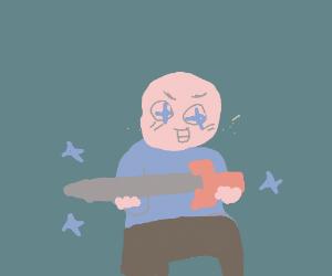 i haf found a sord