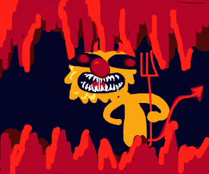 Yellmo is the Devil