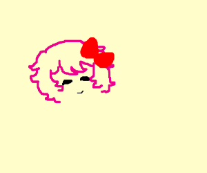 Sayori but only the facial features and hair