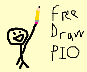 """insert drawing here"" free draw pio"