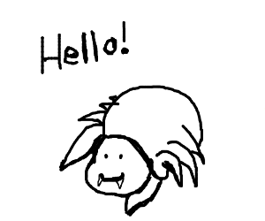 asdfmovie-style spider thing