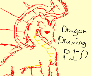 Dragon Drawing PIO