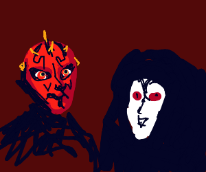 Darth Maul & Darth Sidious