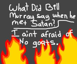 funny satan joke