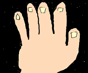 Hand in Space