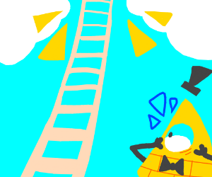 The Illuminati is shocked by ladder to heaven
