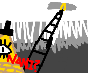 NANI?! BILL CYPHER SEES THE LADDER TO HEAVEN?!