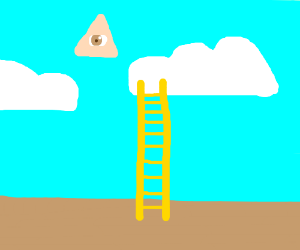 the ladder to heaven (not the staircase)