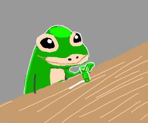When the Geico Gecko scores some good drugs