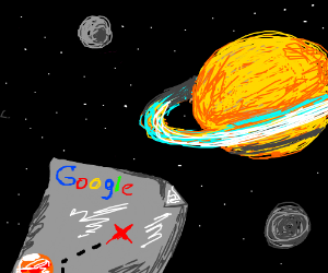 Google Maps Takes u to saturn - Drawception on virtual universe map, milky way universe map, star trek universe map, google space stars, google space elevator, norwegian sea map, google sky universe, google sky view, universe solar system map, google earth spaceship, mapquest driving directions no map, dune universe map, google space live, national geographic universe map, world map,