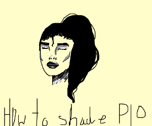 How to shade PIO (can't fit it all in XD)