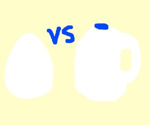 Egg vs Milk