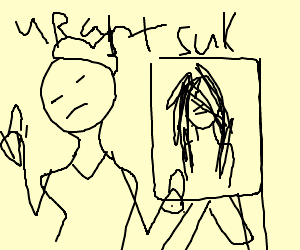 Harsh art critic