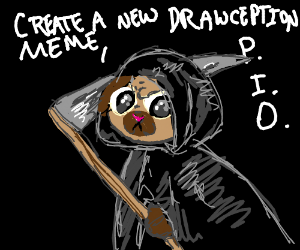 Create a new Drawception Meme, PIO