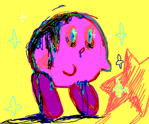 Kirby gets Infected