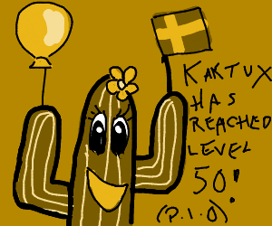 Kaktux has reached level 50 PIO