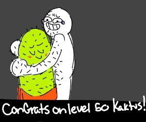 Congrats on level 50 kaktus!!!!!!