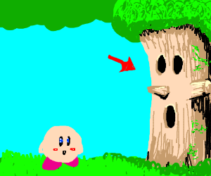 That one tree from the game Kirby?