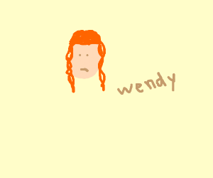 a girl named wendy