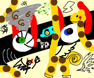 Draw something unexplainable/confusing