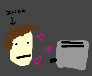 a lizard falls in love with a toaster