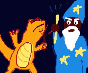 Wizard vs Lizard