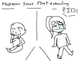 Redraw your first drawing PIO