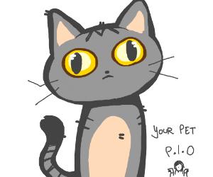 your pet PIO shrugging female emoji