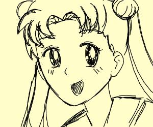 Crudely drawn Usagi