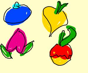 Pokemon Berries