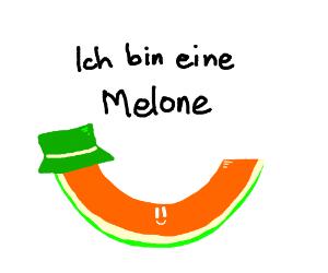 a German melon