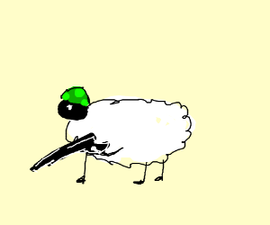 soldier sheep