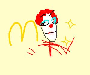 Ronald McDonald had a makeover